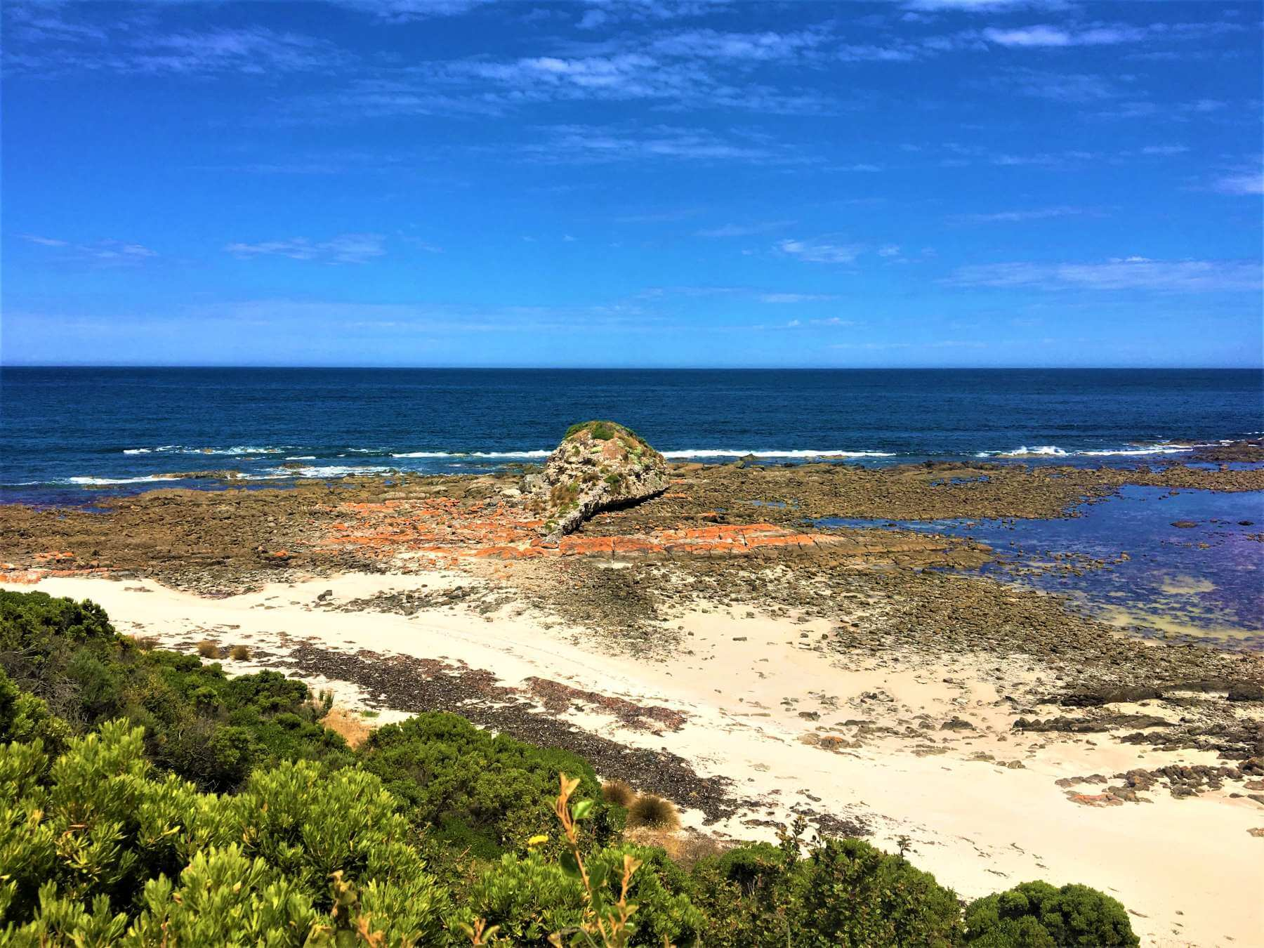 Känguru Island - Bucht