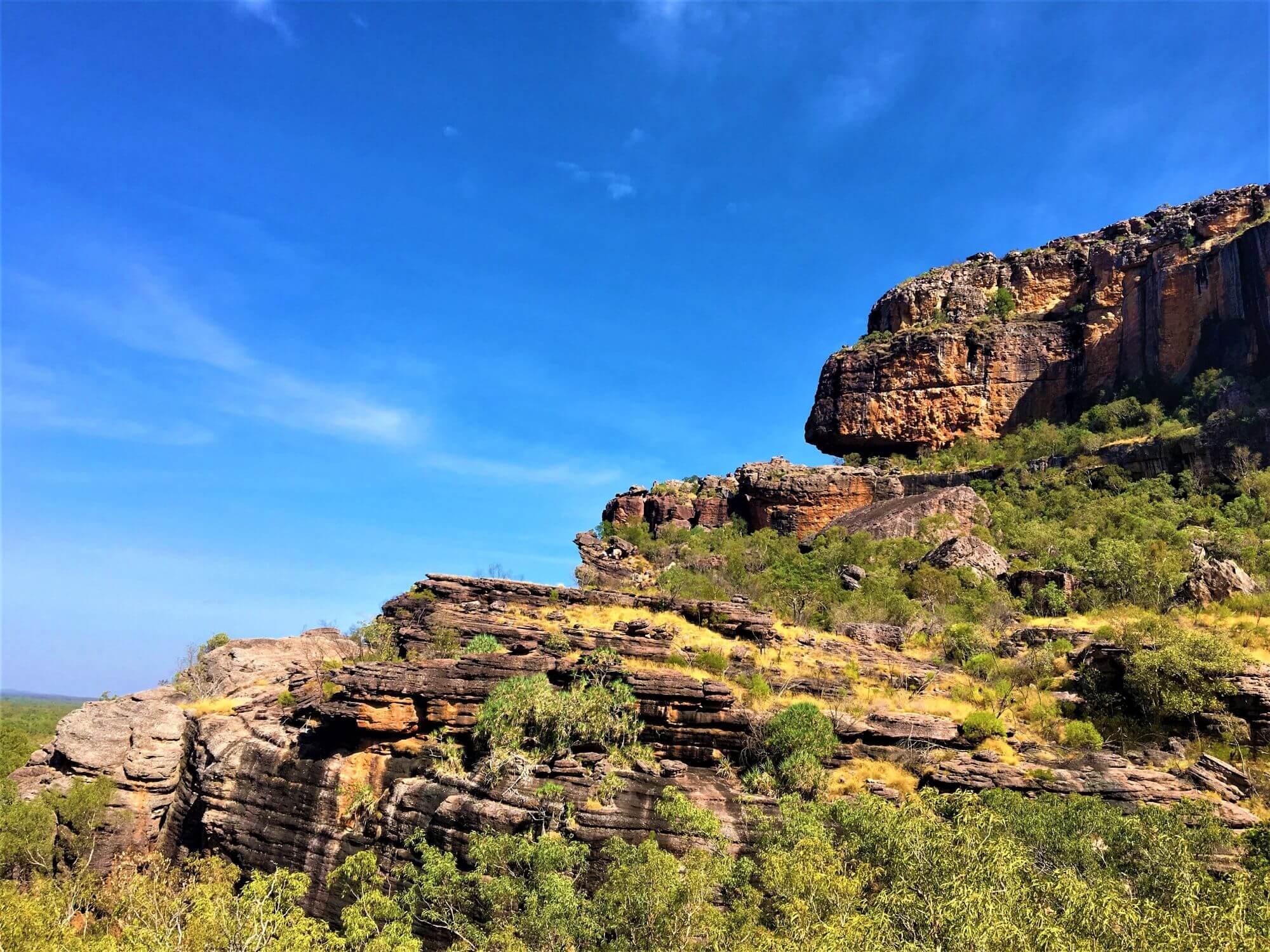 Sehenswürdigkeit im Kakadu National Park - Großer Fels Nourlangie Rock