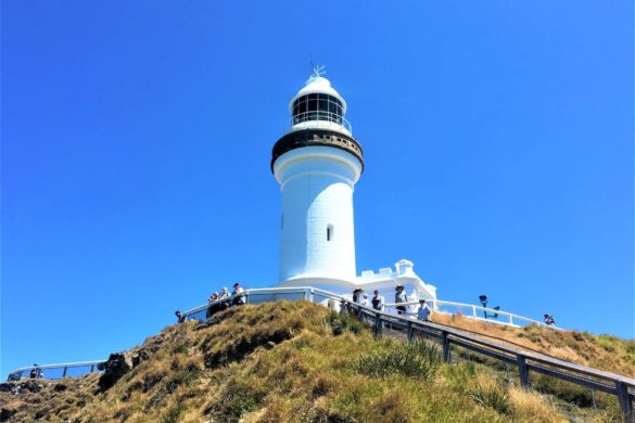 Leuchtturm am Cape Byron in Australien