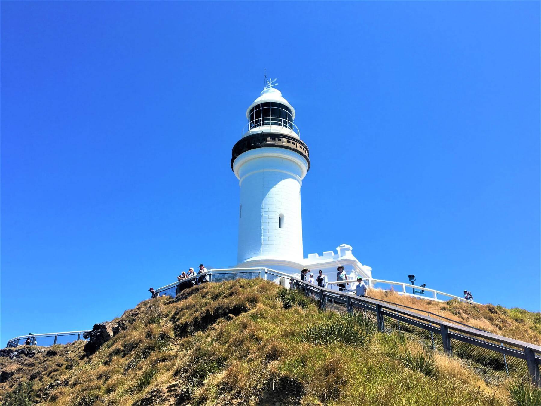 Leuchtturm am Cape Byron in Australien