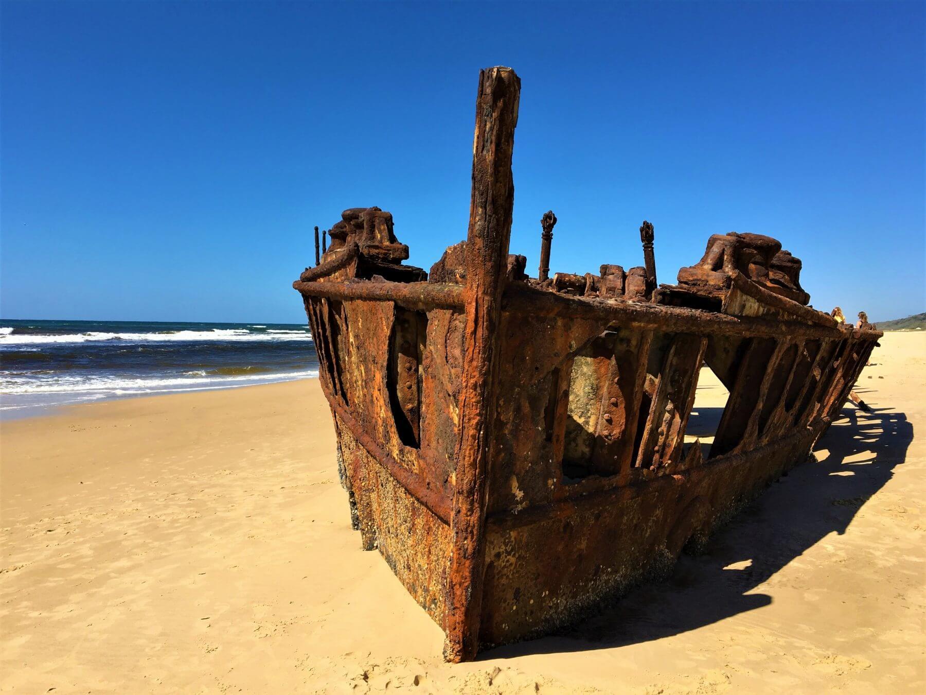 Schiffswrack Maheno Wreck auf Fraser Island