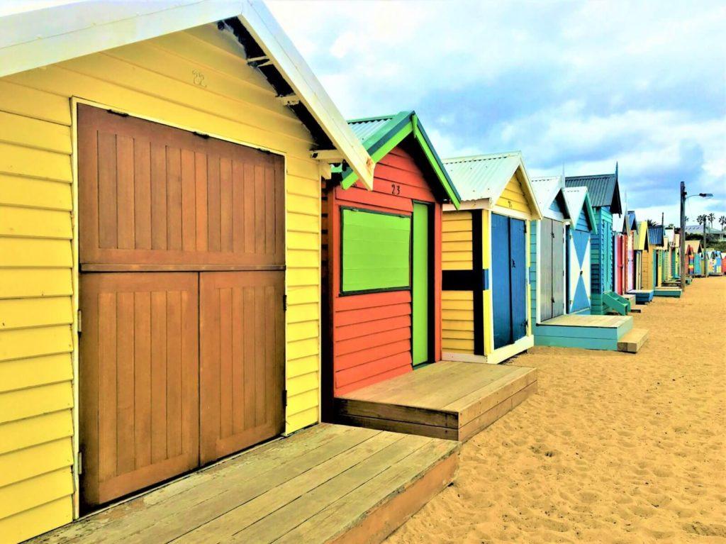 Melbourne Sehenswürdigkeiten - Brighton Strandhäuser