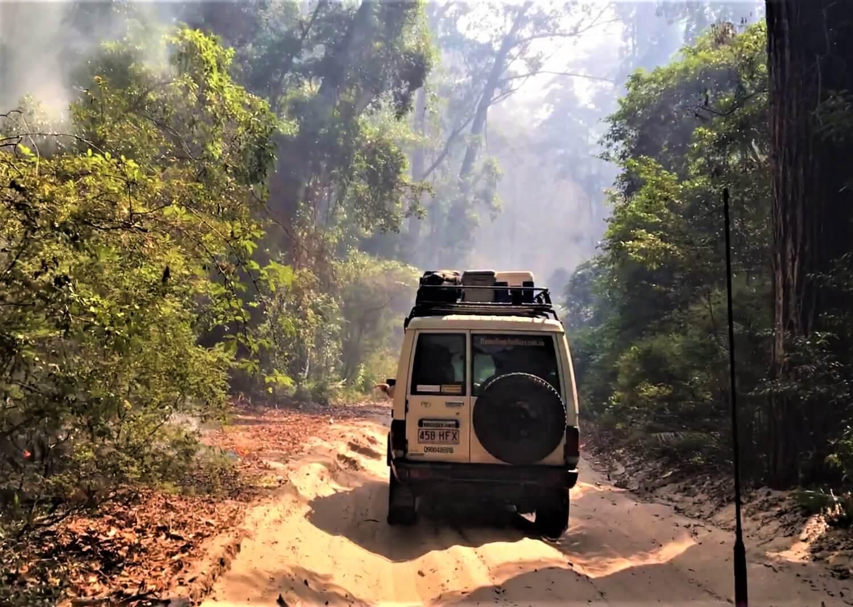 Mit dem Jeep auf Fraser Island fahren