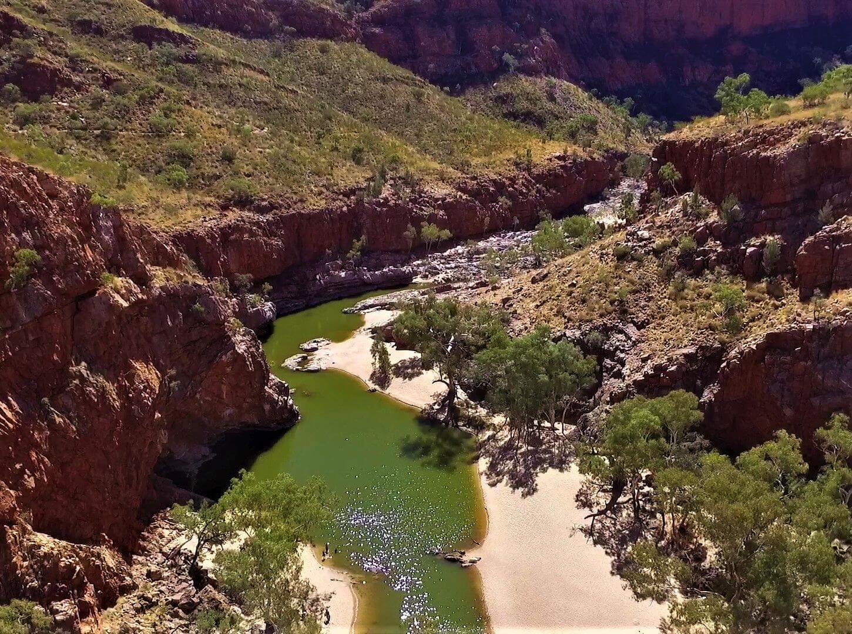 Die Schlucht Ormiston Gorge in Australien