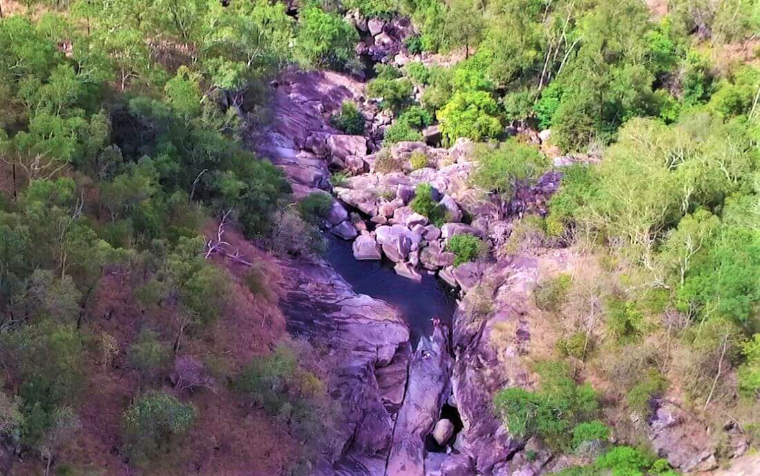 Pools im Paluma Range National Park in Australien