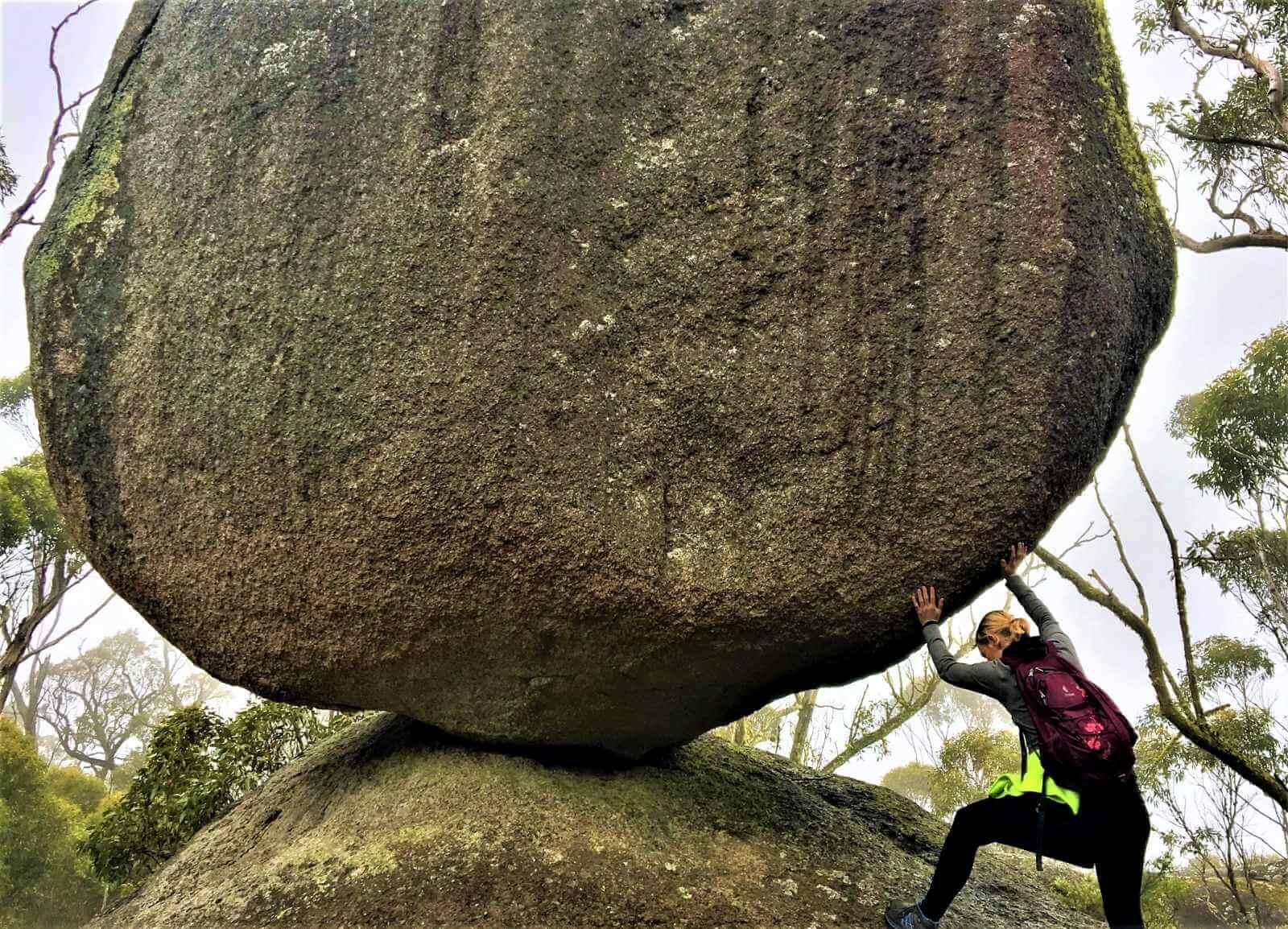 Granitfelsen im Porongurup National Park in Australien