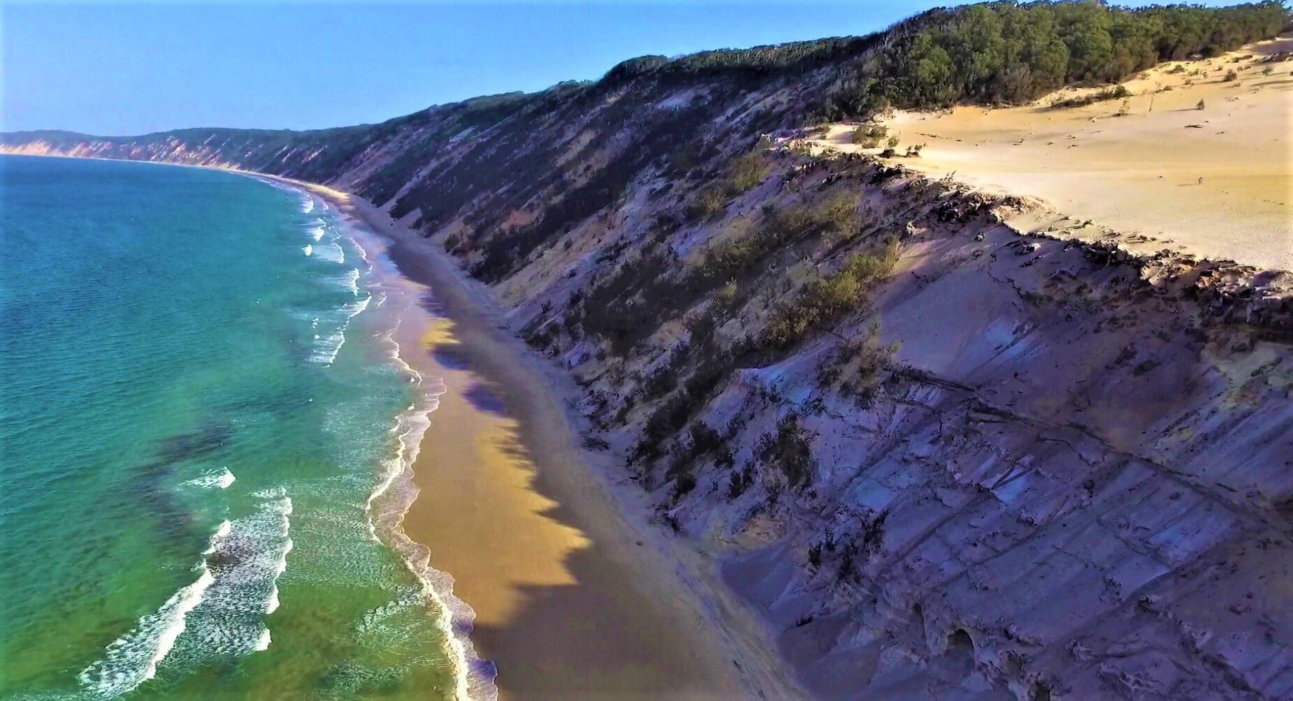 Strand von Rainbow im Great Sandy National Park