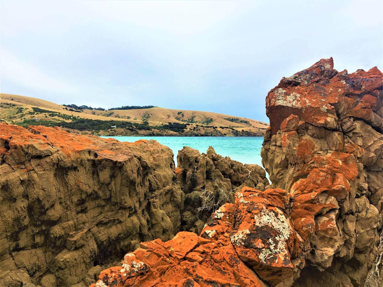 Roter Felsen in Australien