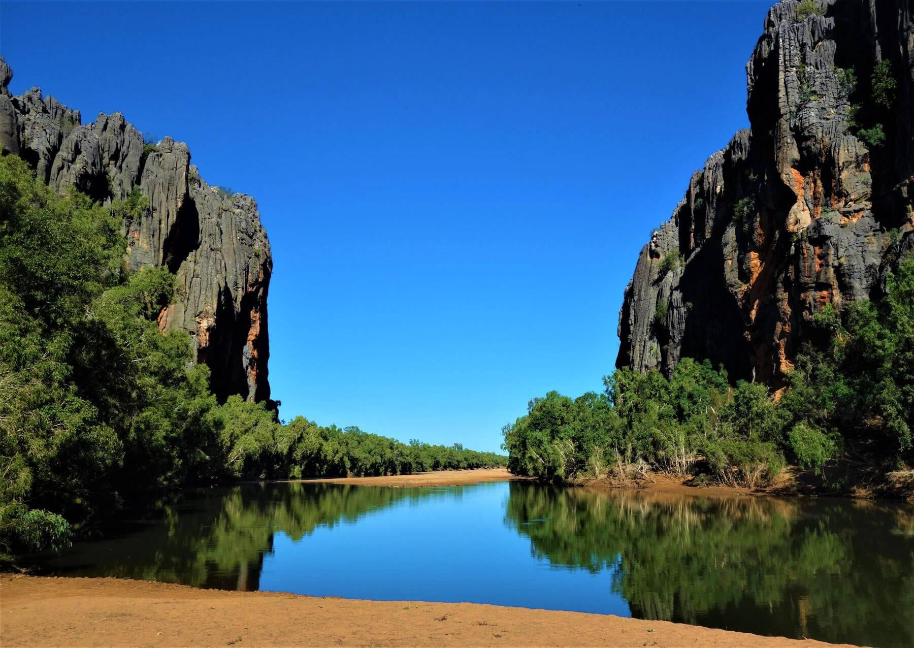 Route von Broome nach Darwin