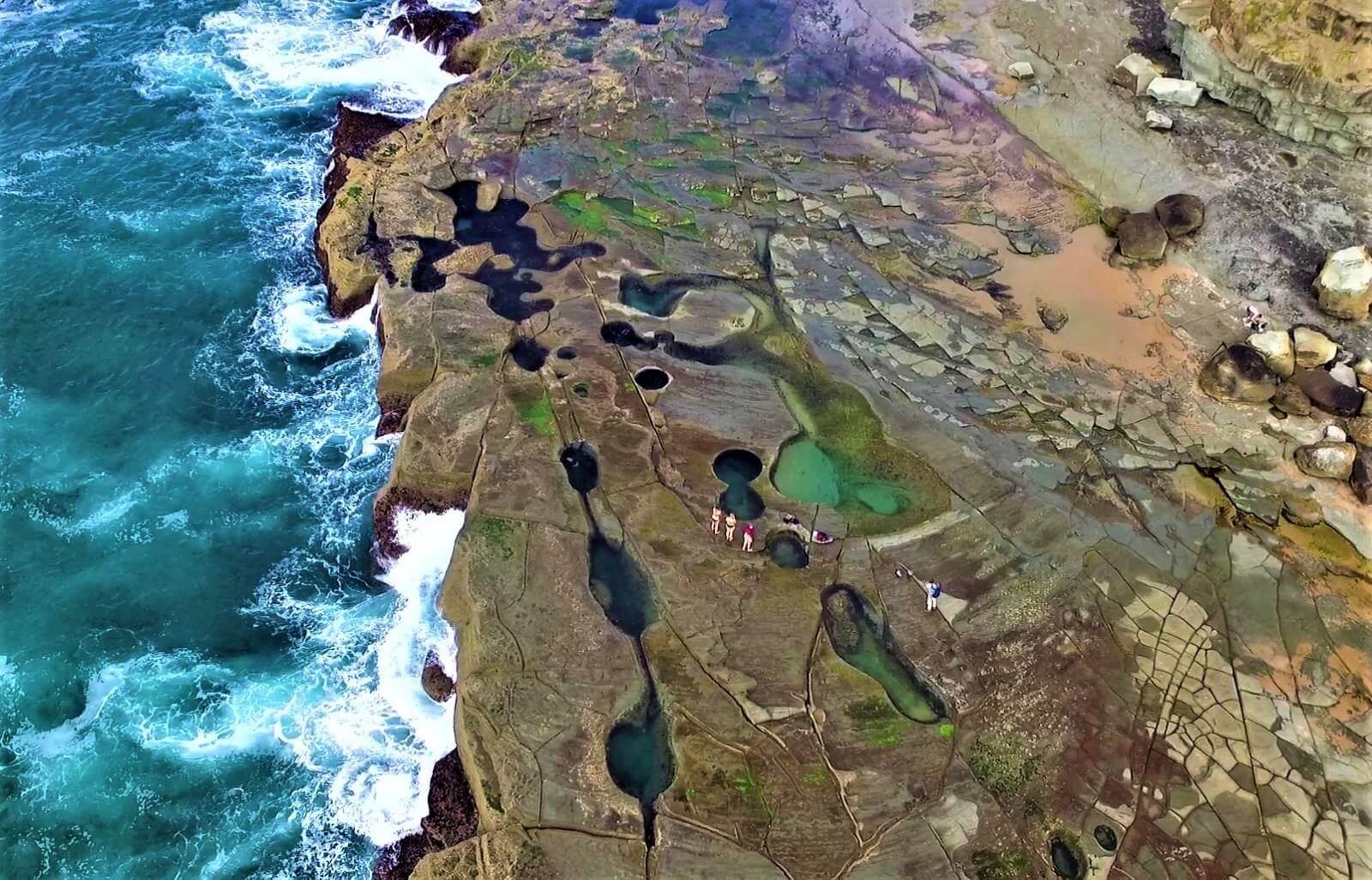 Felsenpools im Royal National Park - Figure Eight Pools