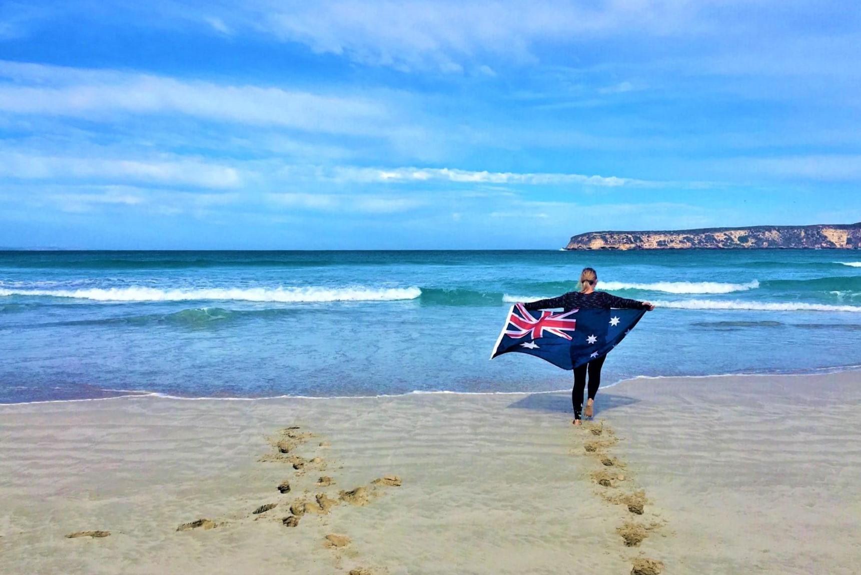 Schöner Strand in Australien