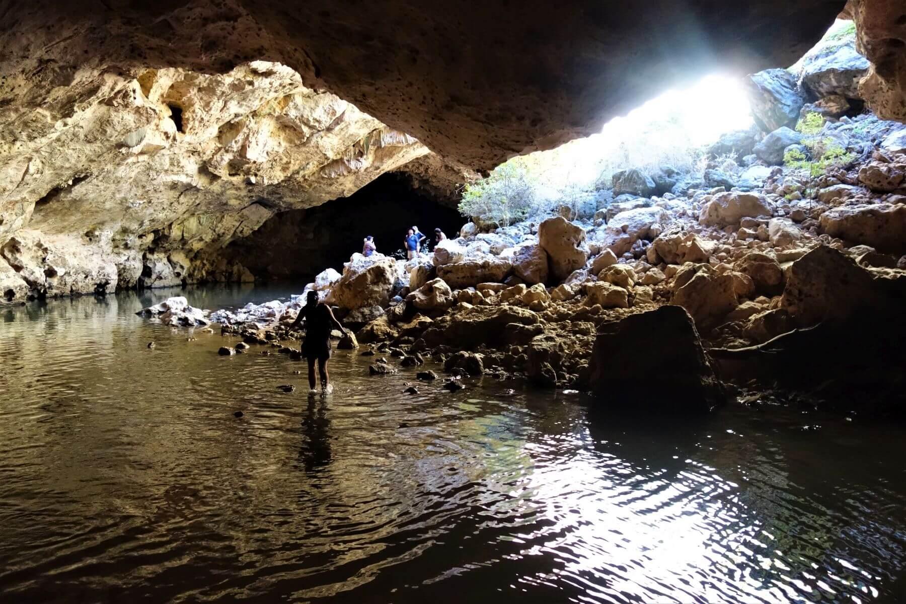 Sehenswürdigkeiten auf der Gibb River Road - Tunnel Creek National Park