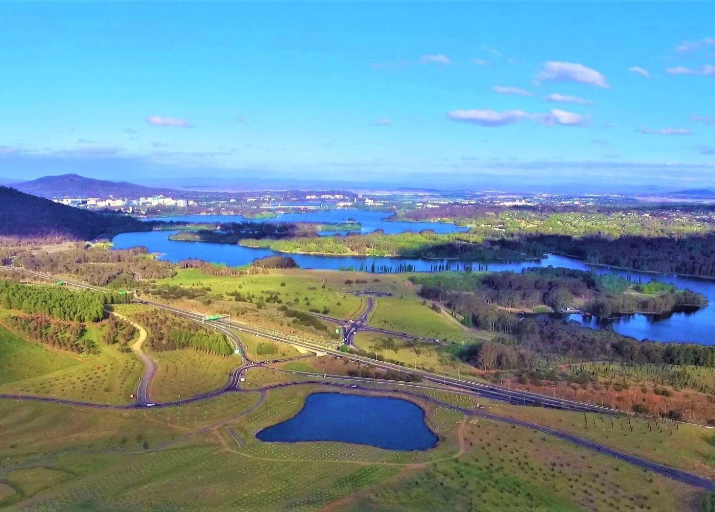 Sightseeing Canberra - Arboretum