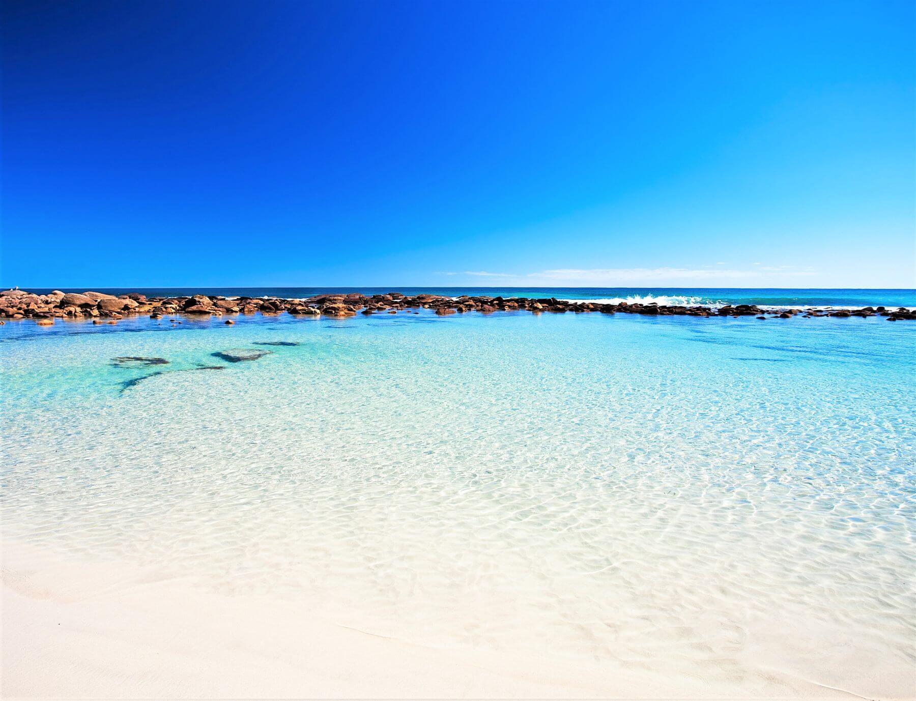 Strand auf Kangaroo Island - Stokes Bay Beach