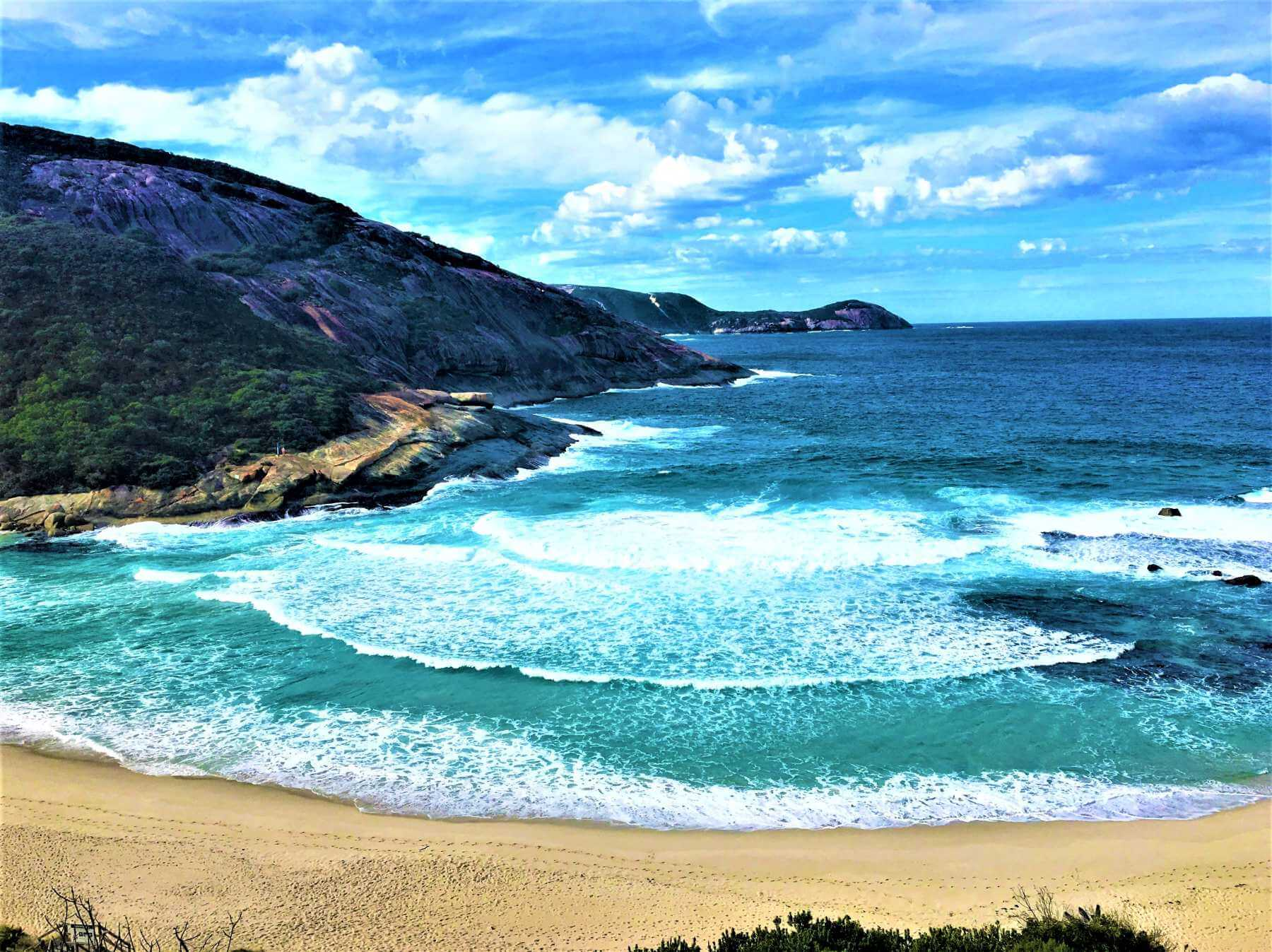 Strand bei Albany in Australien