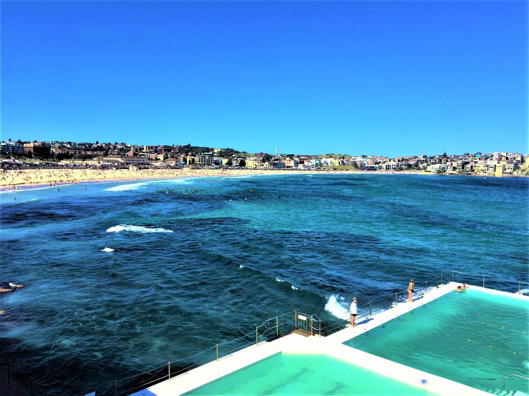 Sydney Sehenswürdigkeiten - Bondi Beach