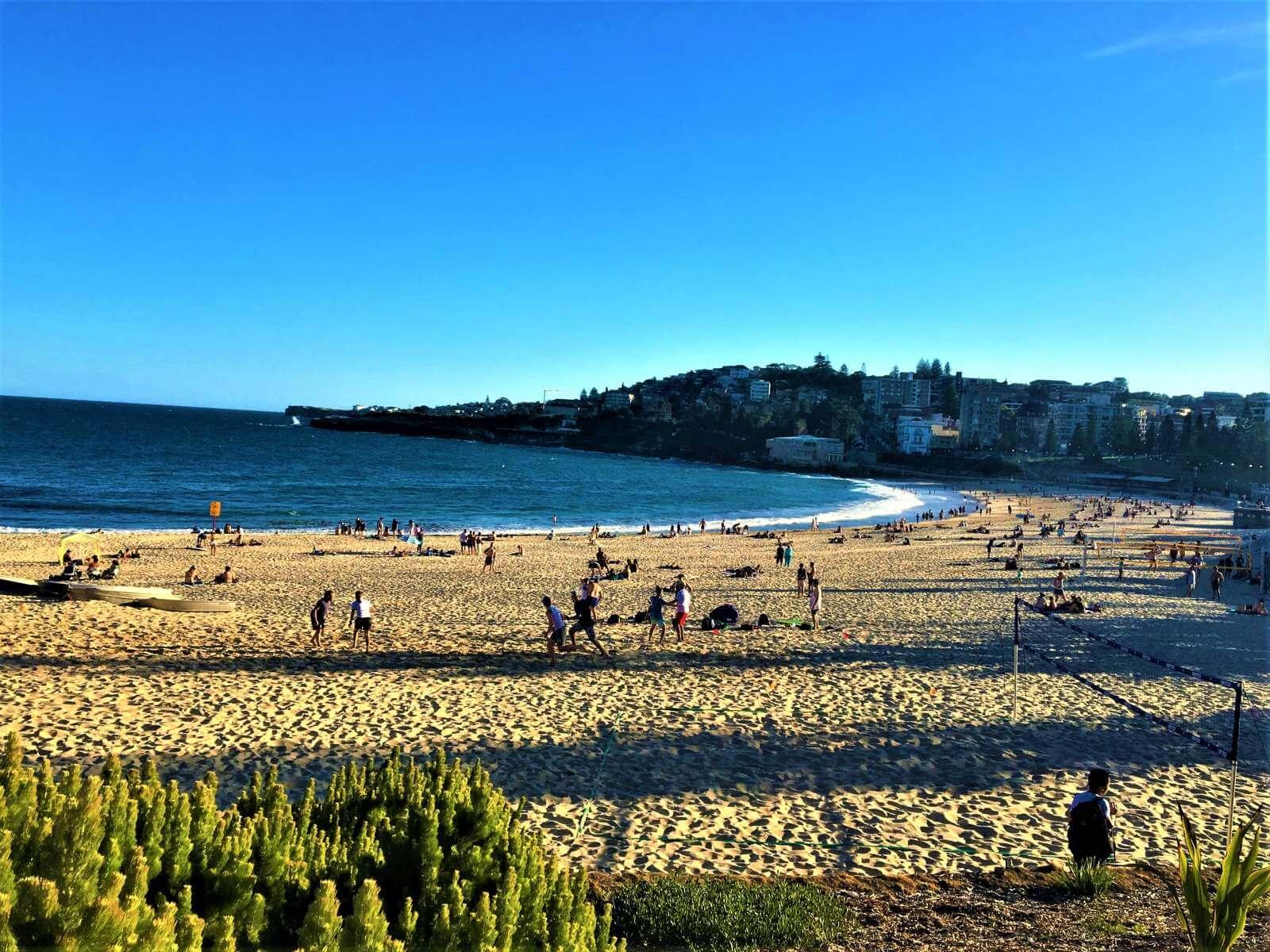 Sydney in Australien - Blick auf den Coogee Beach
