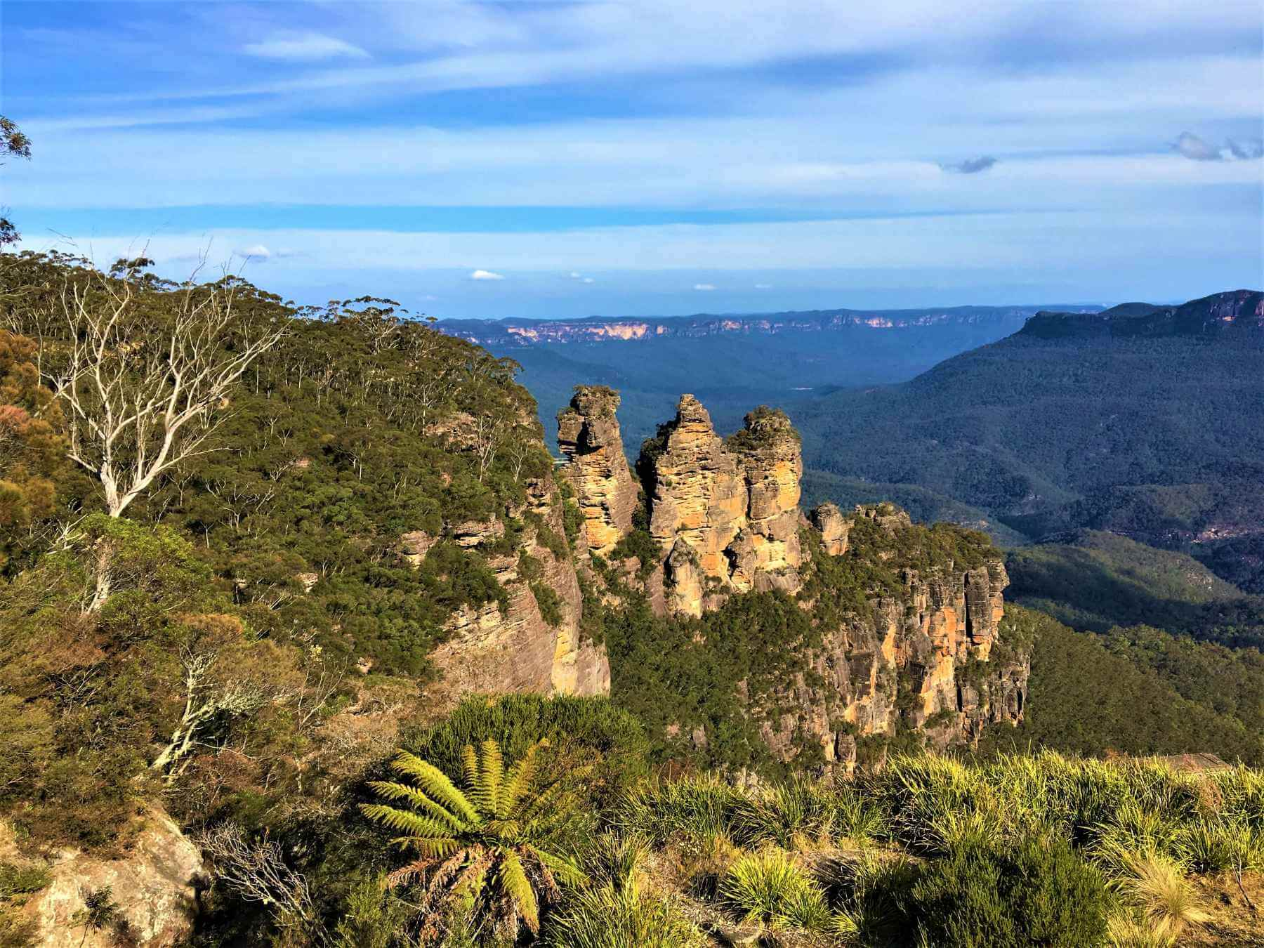 Three Sisters im Blue Mountains National Park