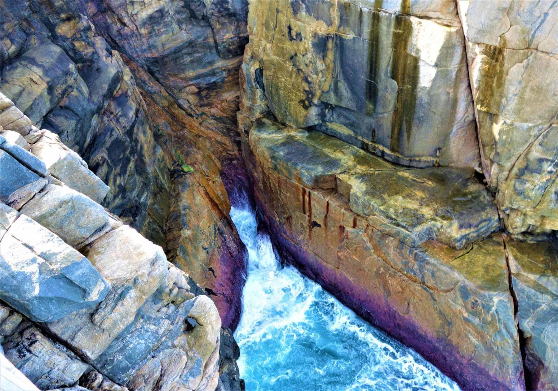 Torndirrup National Park in Australien - Felsspalte