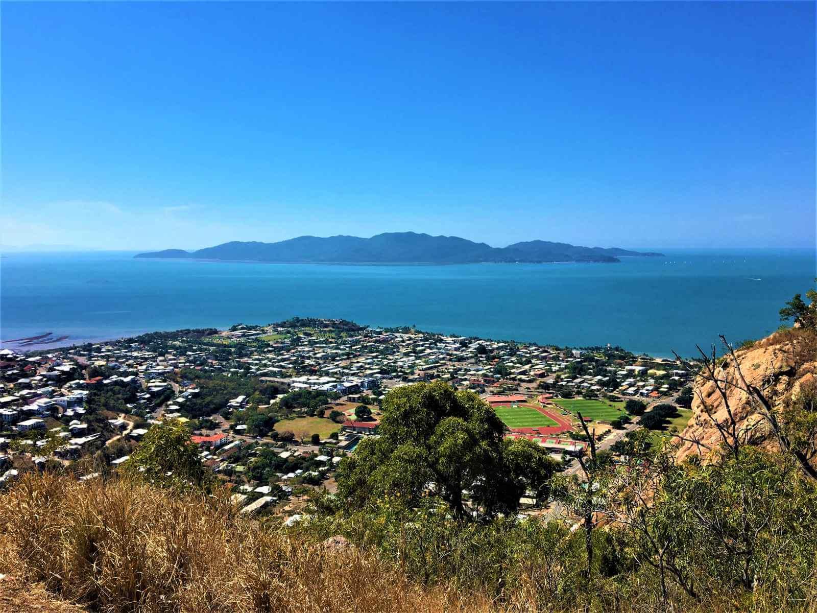 Aussichtspunkt in Townsville - Castle Hill Lookout