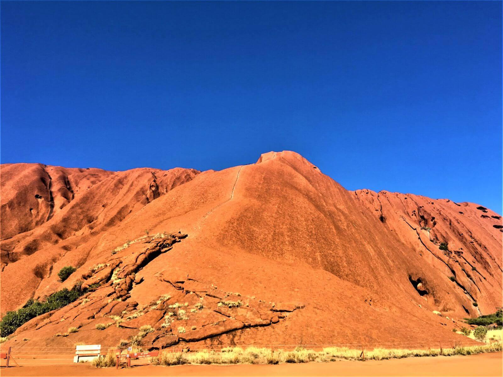 Uluru - Ayers Rock besteigen verboten