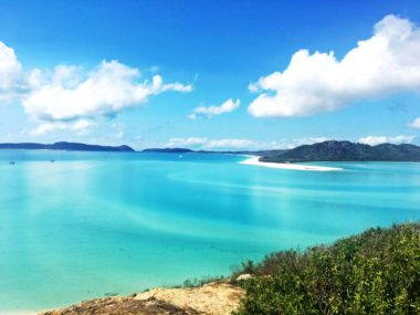 Whitsunday Islands National Park - Hill Inlet Lookout mit Whitehaven Beach