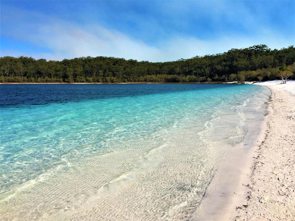 Ostküste Australien Sehenswürdigkeiten - Türkisblauer See
