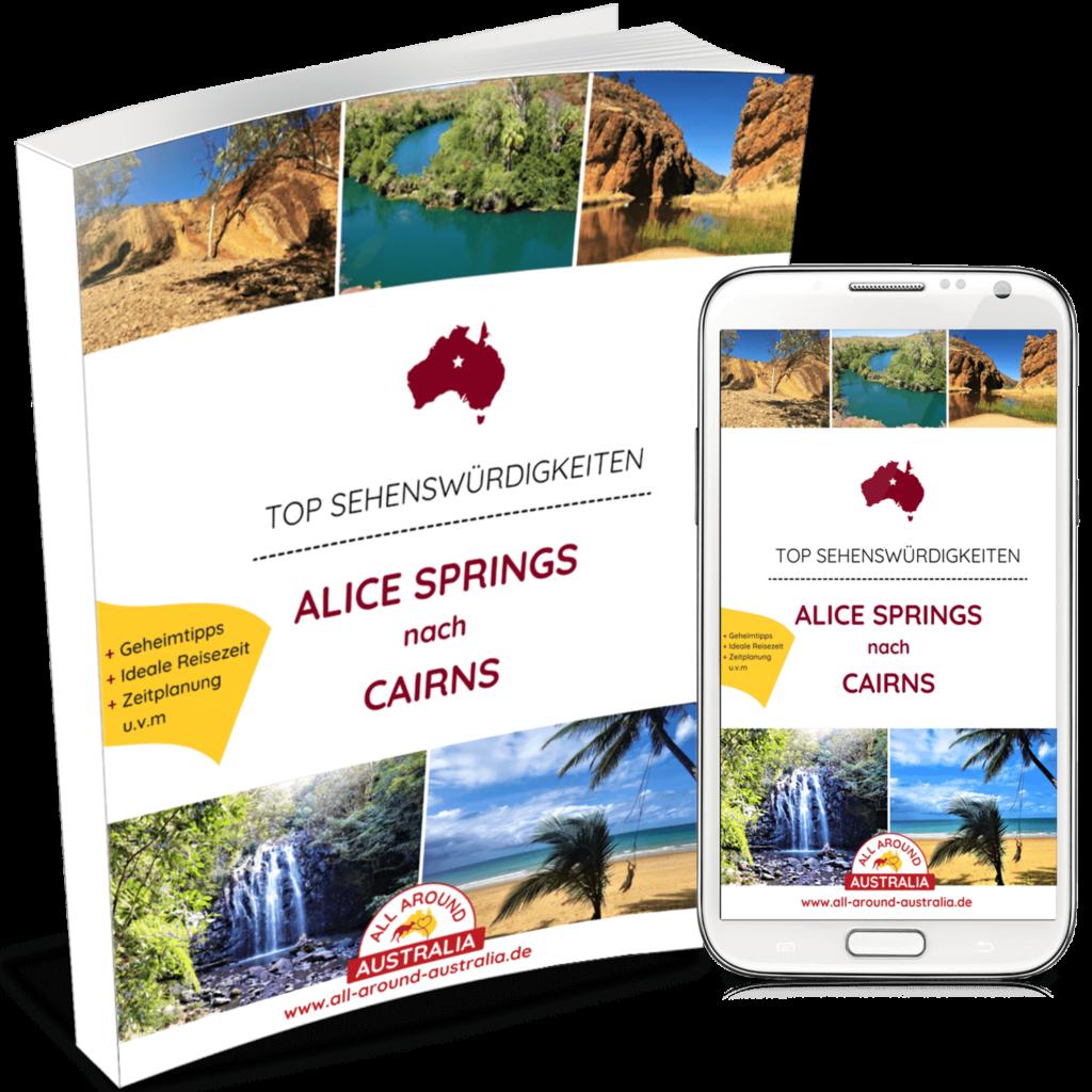 Australien Sehenswürdigkeiten - Alice Springs nach Cairns
