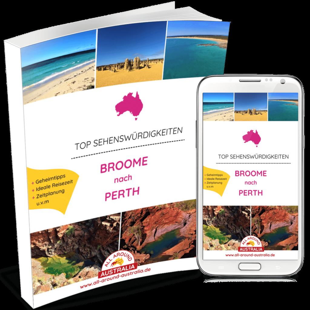 Sehenswürdigkeiten von Broome nach Perth in Australien