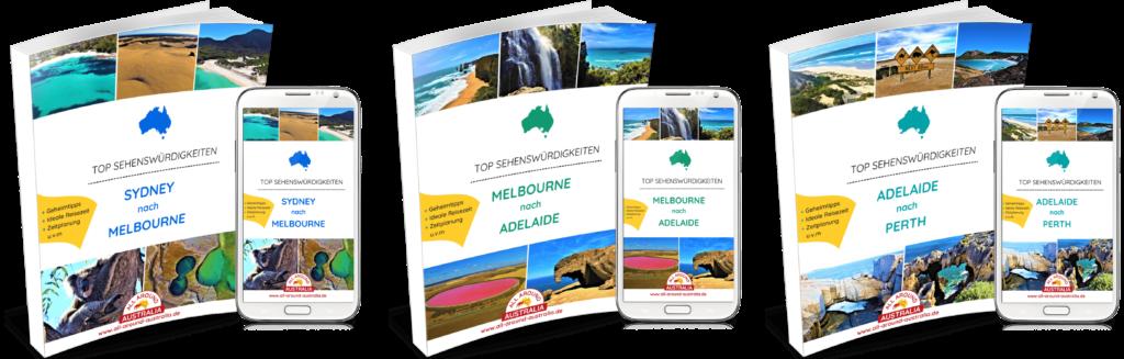 Australien Südküste - Sehenswürdigkeiten