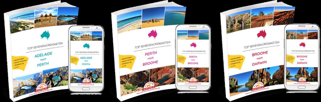 Australien Westküste - Sehenswürdigkeiten