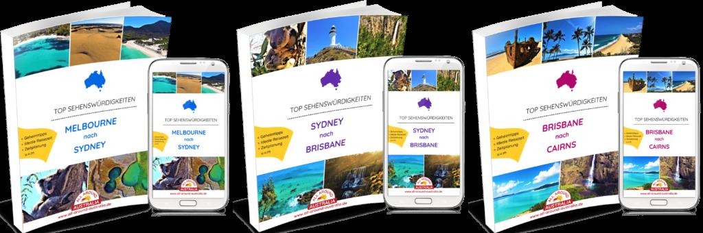 Ostküste Australien - Sehenswürdigkeiten