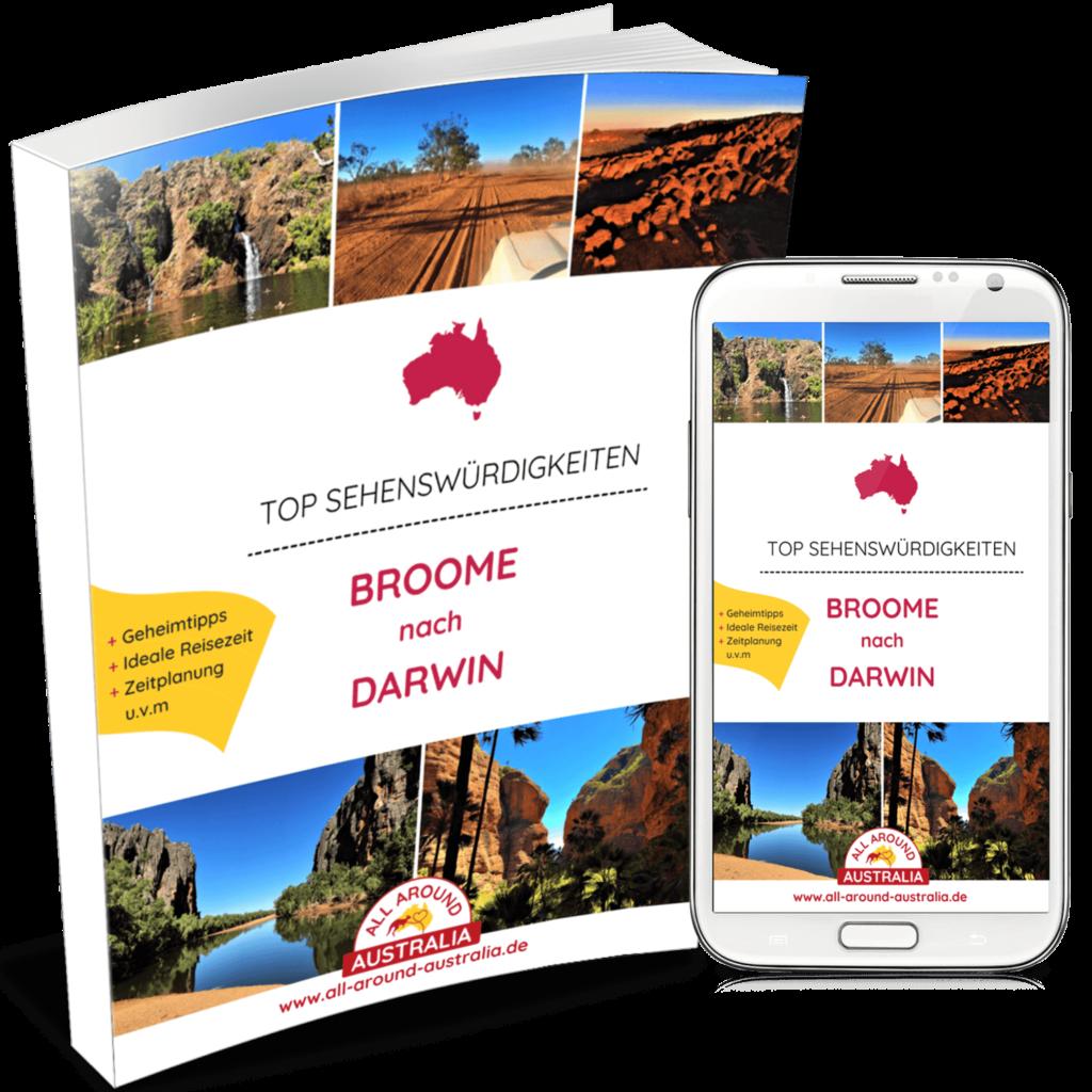 Sehenswürdigkeiten von Broome nach Darwin in Australien