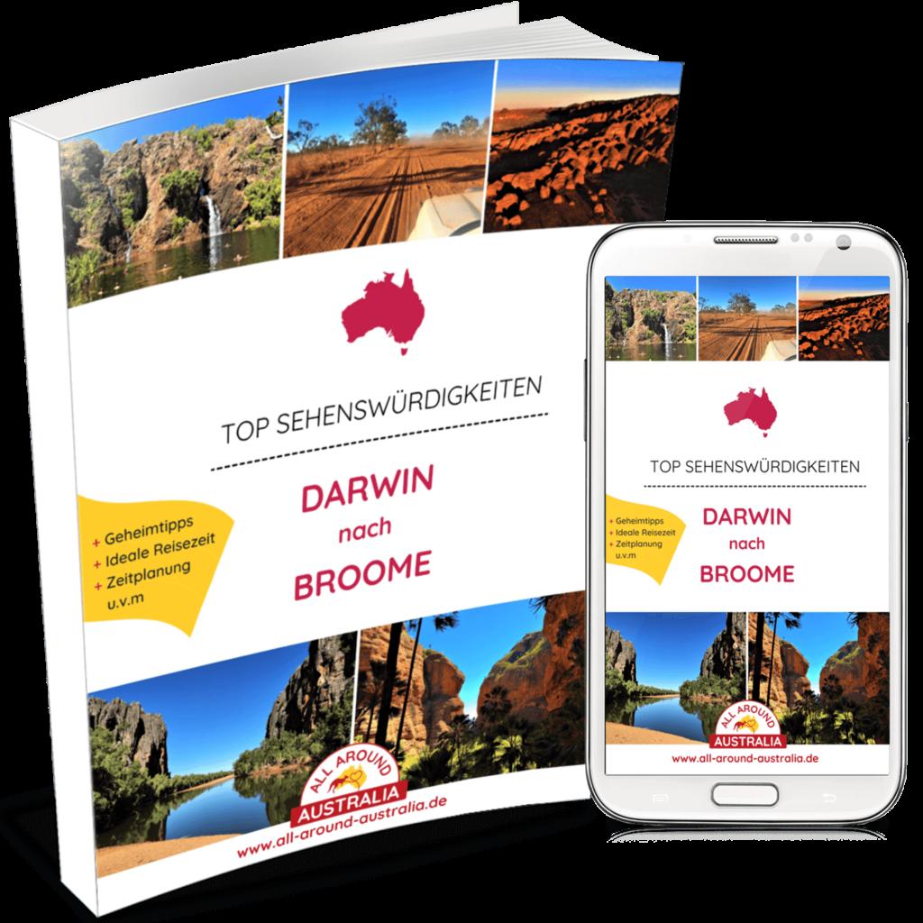 Sehenswürdigkeiten von Darwin nach Broome in Australien