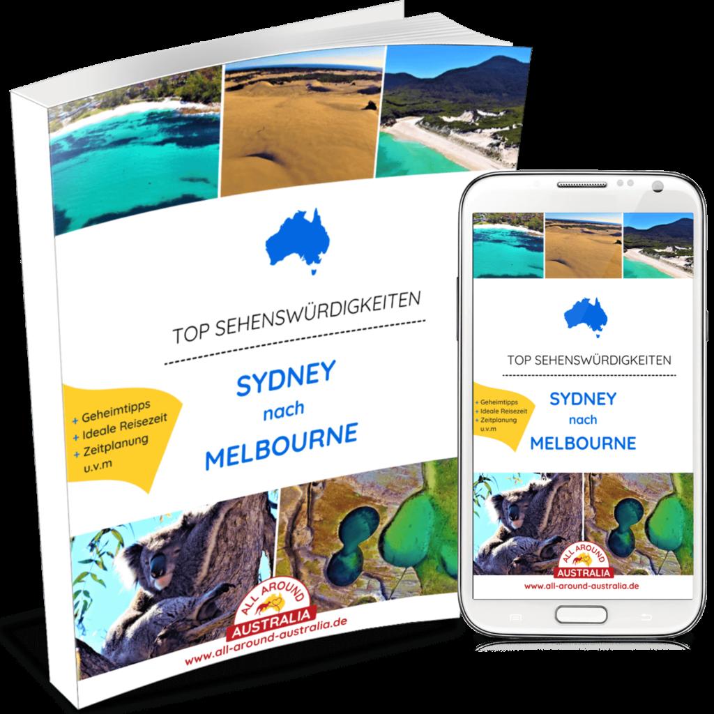 Sehenswürdigkeiten Australien - Sydney nach Melbourne