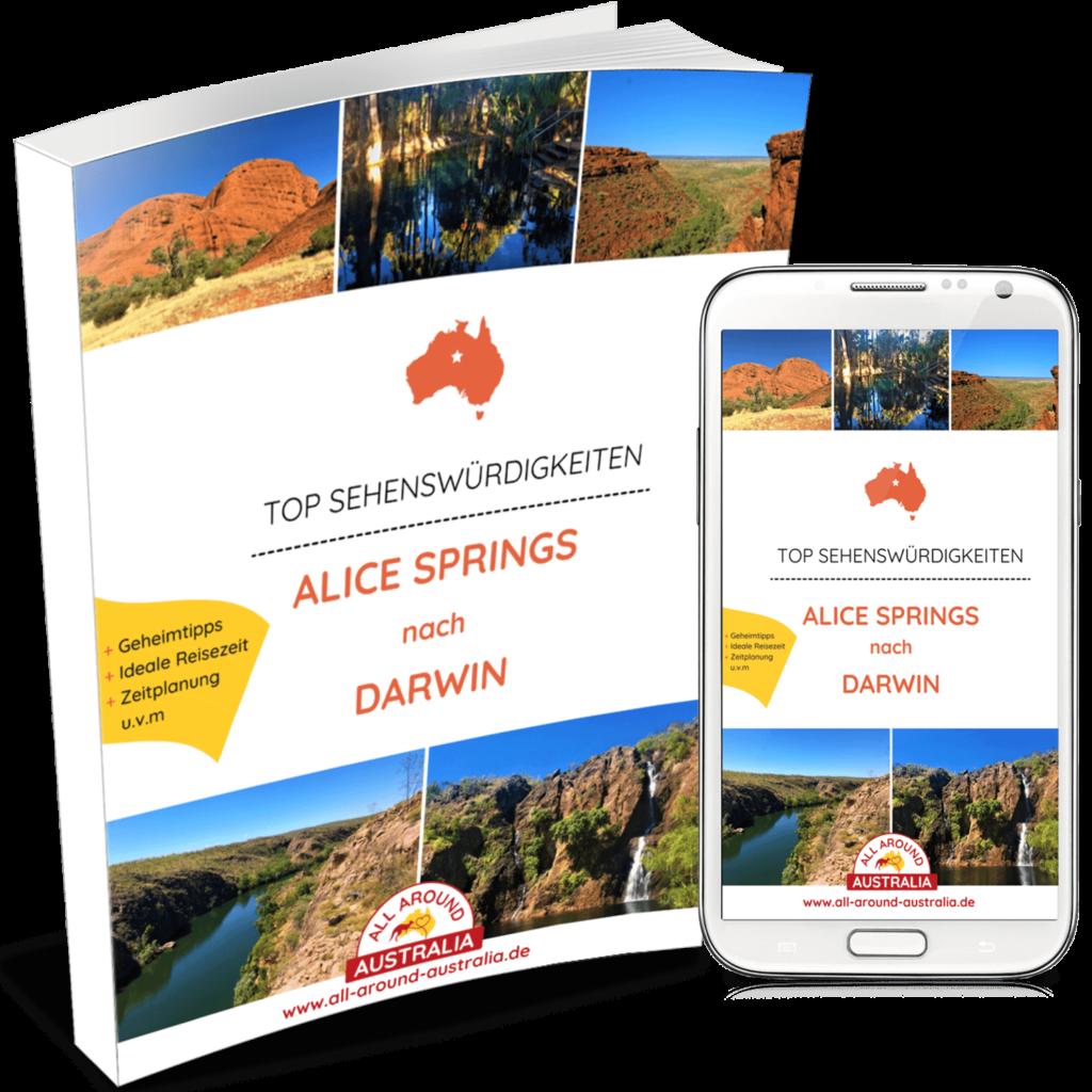 Sehenswürdigkeiten in Australien - Alice-Springs nach Darwin