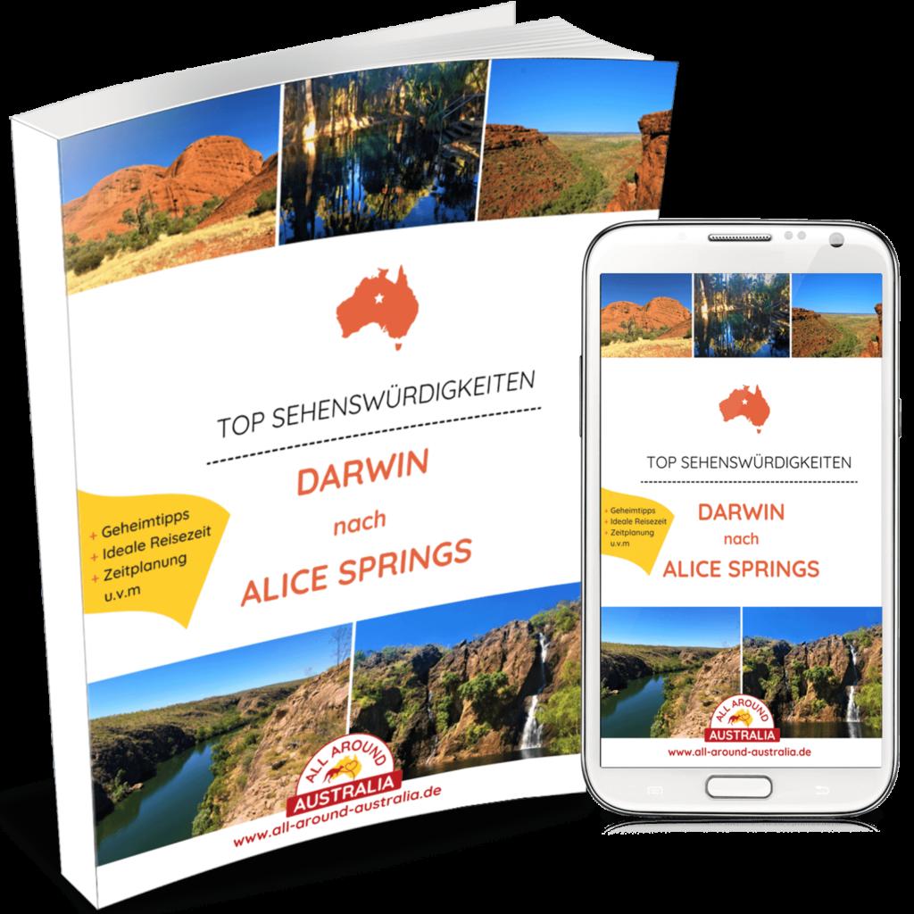 Sehenswürdigkeiten in Australien - Darwin nach Alice Springs