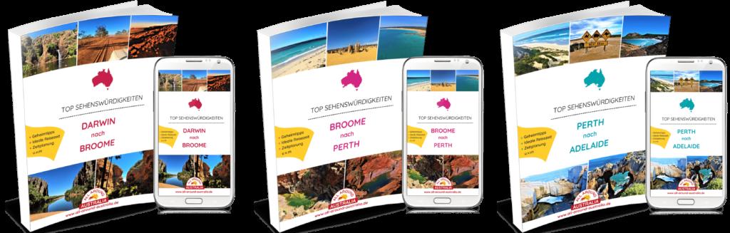 Westküste Australien - Sehenswürdigkeiten