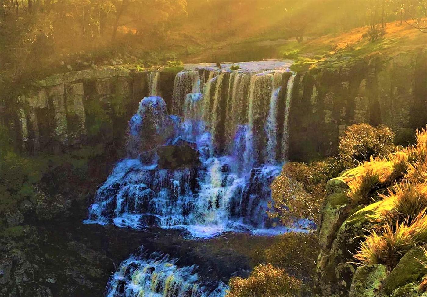Australien - Top Wasserfall