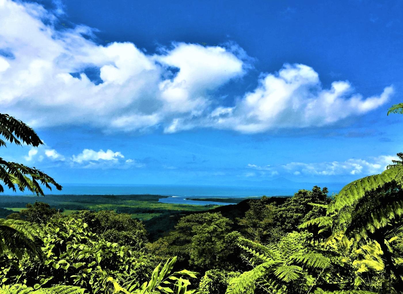 Route von Brisbane nach Cairns