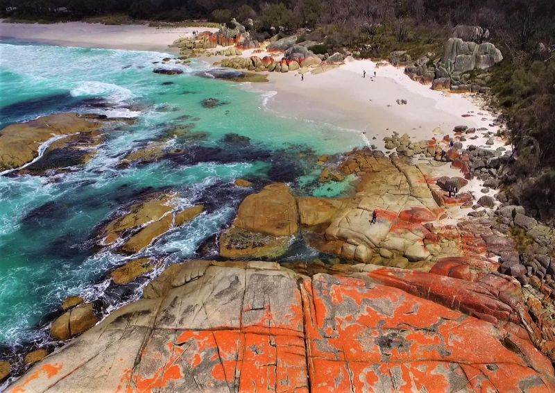 Tasmanien Highlights - Bay of Fires