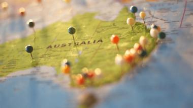 Reiserouten - Australien